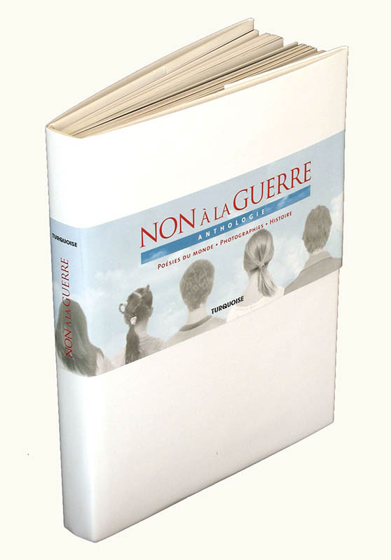 Anthologies - Non à la guerre - Editions Turquoise - Boutique en ligne